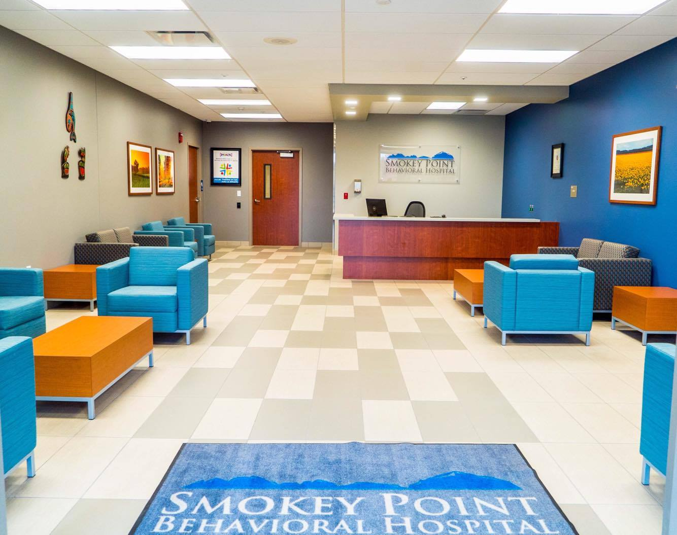 Lobby Main Entrance View for Smokey Point